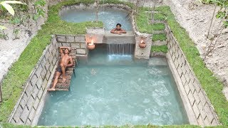 Most Amazing Build Two Floors Underground Swimming Pools
