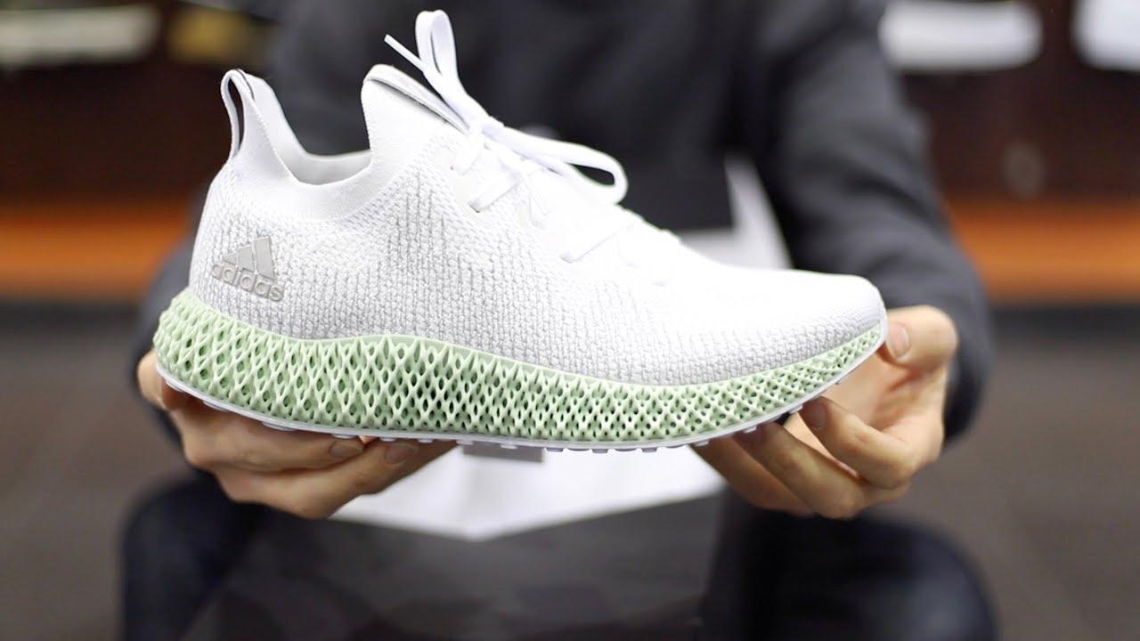 Unboxing Sneakers Adidas Alphaedge 4d