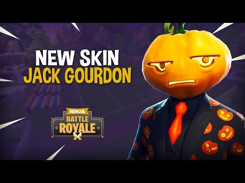 *NEW* Jack Gourdon Skin!! - Fortnite Battle Royale Gameplay - Ninja