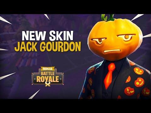 *NEW* Jack Gourdon Skin!! - Fortnite Battle Royale Gameplay - Ninja thumbnail