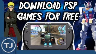 PSP 6.61 How To Download & Install Games!