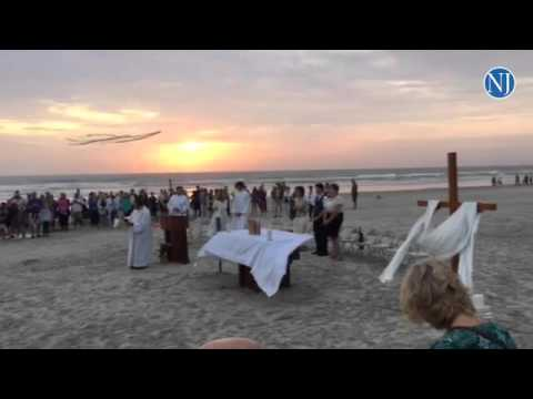 Easter Sunrise Service On Daytona Beach