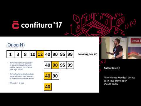 2017 - Anton Berezin - Algorithms: Practical points each Java Developer should know.