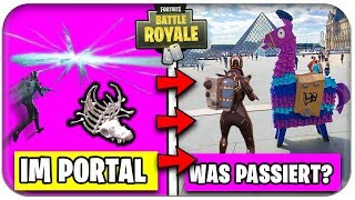 INS LAST PORTAL PLACE - What happens? | Fortnite Season 5 Theme German German