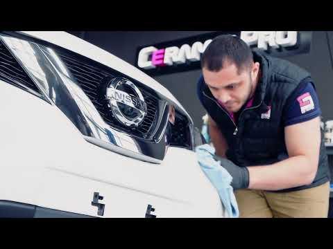 Бронирование антигравийкой и нанесение Керамик ПРО для Nissan X-trail. Тюмень