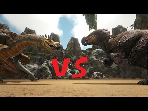 Dodo-Wyvern v.s Dodo-Rex   HALLOWEEN SPECIAL   Dino battles (Tim/german)