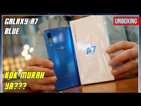 Unboxing Samsung Galaxy A7 2018 Indonesia