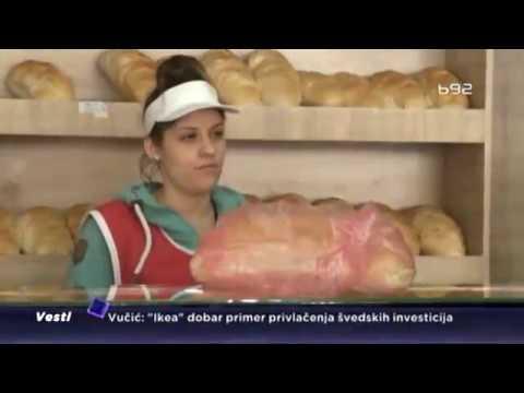 'Ubij  Šiptara' napisano na pekari u Aleksincu