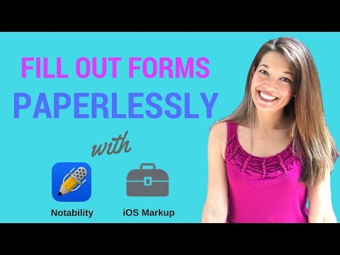 How to fill out pdf forms on ipad