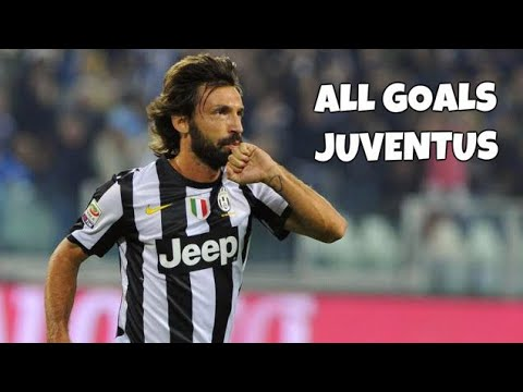 Andrea Pirlo All 18 Goals For Juventus 2011-2015