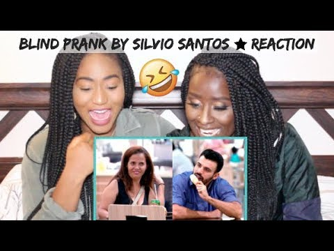 *HILARIOUS* Canadians REACT to Blind Prank by Silvio Santos Brazilian Prank