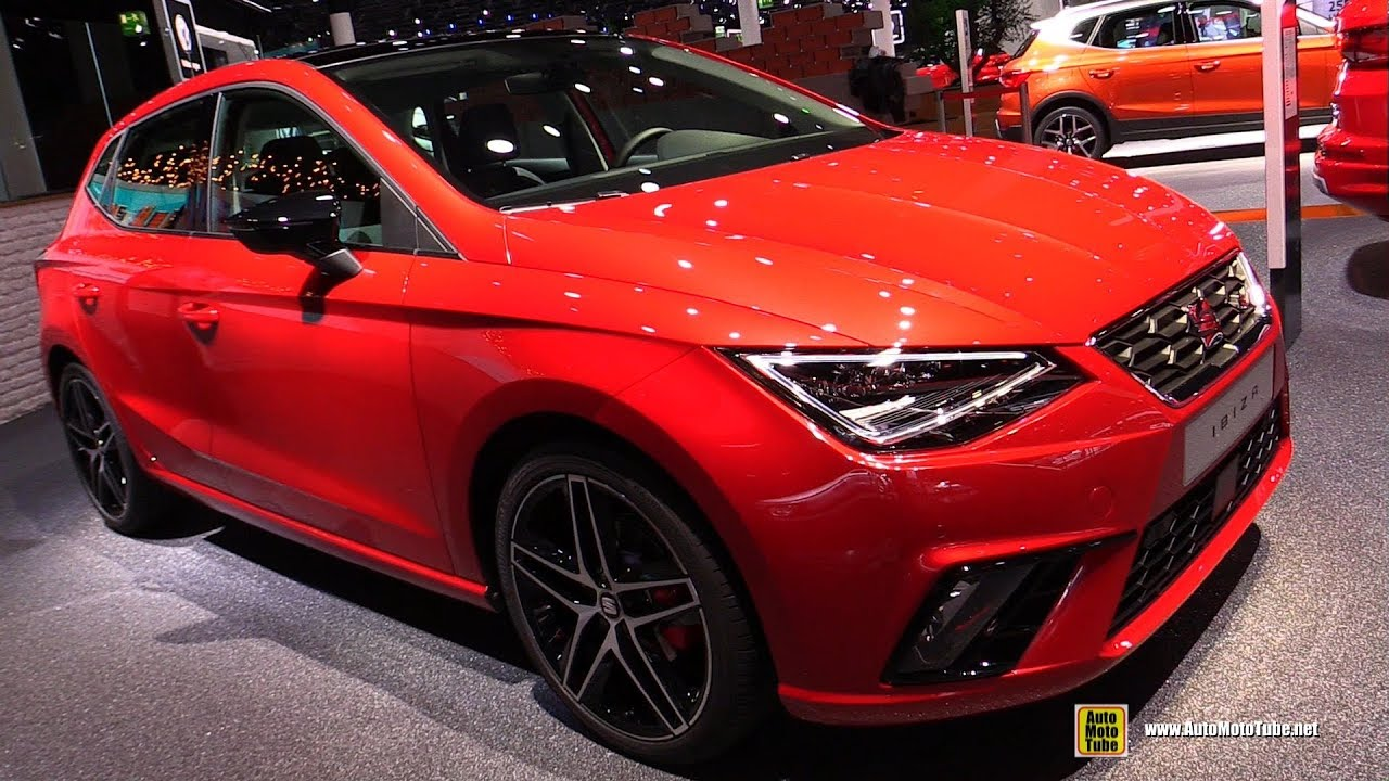 2018 seat ibiza fr exterior walkaround 2017 frankfurt auto show youtube. Black Bedroom Furniture Sets. Home Design Ideas