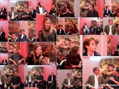 Film ECOLE BUISSONNIERE Conférence de presse BLOIS