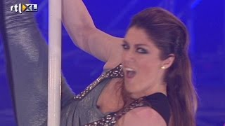 Vrije act Kelly - Show 4 - CELEBRITY POLE DANCING