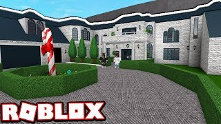 The $500,000 HOLIDAY MANSION!!! | Subscriber Tours (Roblox Bloxburg)