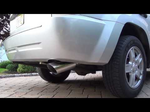 Gibson Cat Back Exhaust Jeep Cherokee