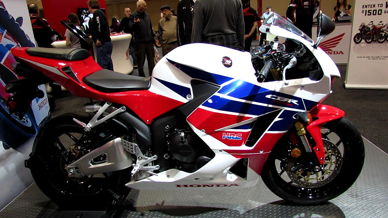 2013 honda cbr600rr at 2013 toronto motorcycle show