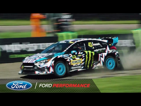 Ford Focus RS RX and Hoonigan Racing: Lydden Hill Action | FIA World Rallycross | Ford Performance