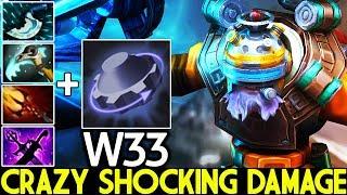 W33 [Tinker] Crazy Fap Hand Shocking Damage Pro Gameplay 7.22 Dota 2