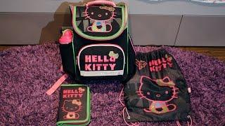 Мой школьный портфель Hello Kitty (обзор, 2-й класс)(По Вашим просьбам я сняла обзор моего школьного портфеля и его содержимого. А какой у Вас портфель, напишите..., 2016-01-10T22:55:41.000Z)