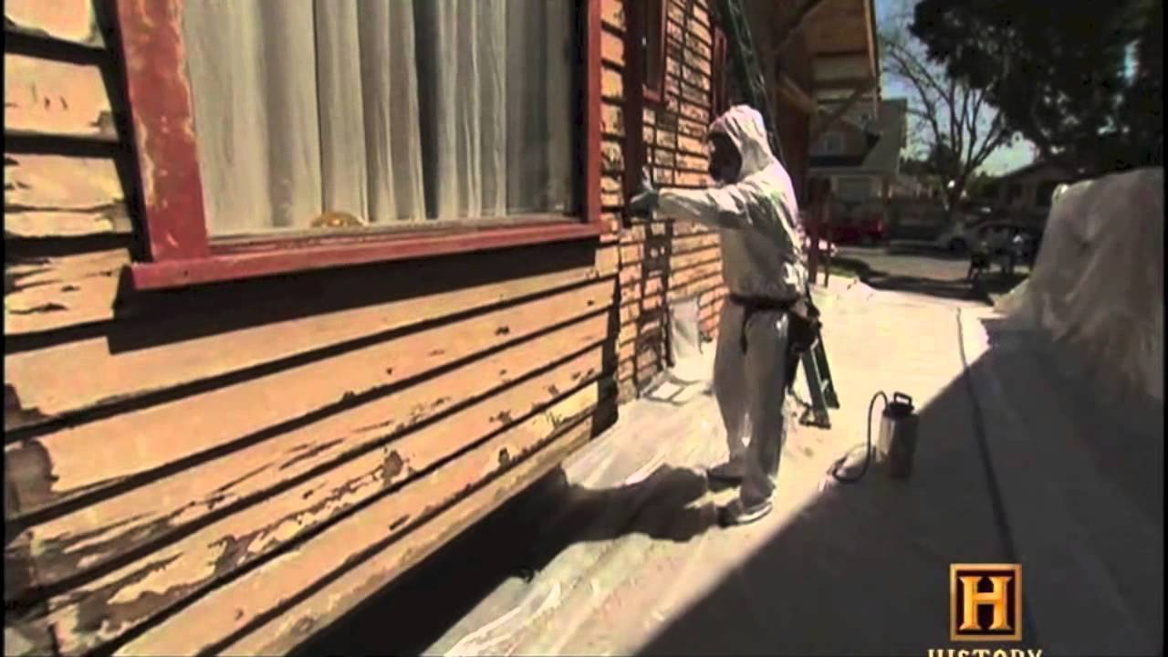 Lead Based Paint Removal Youtube