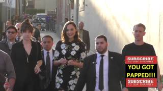 Gal Gadot at Jimmy Kimmel Live in Hollywood