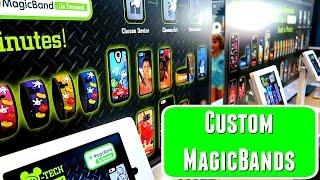 Disney Magicband store - create custom bands
