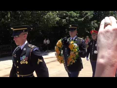 St. Charles HS 2016 Laying Wreath @ Tomb of the Unknown Soldier