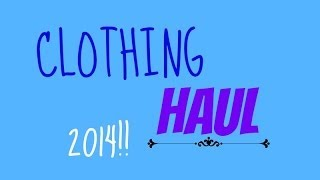 Clothing Haul! Aeropostal featuring The Bethany Mota Spring Collection! Thumbnail