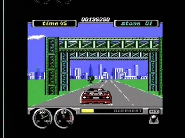TURBO OUTRUN (C64 - FULL GAME)