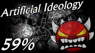 Artificial Ideology by TeamN2: Progress #1 59% | Geometry Dash [2.1] [EXTREME DEMON]