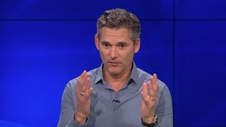 Eric Bana on Shooting in a Prison in New Movie