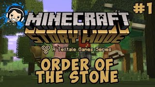 Perkenalan - Minecraft: Story Mode Indonesia (Ep 1 : Order of The Stone) #1