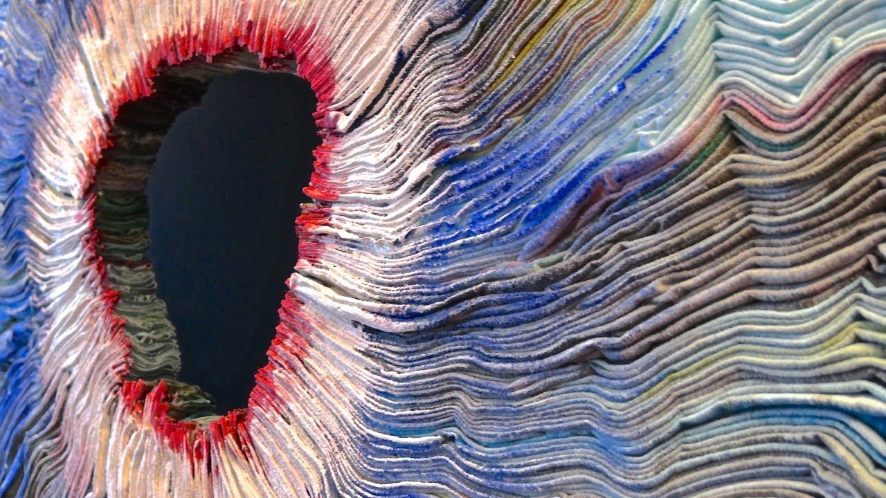 textile art studio demo gerda schimmel nl 39 beelden in textiel 39 youtube. Black Bedroom Furniture Sets. Home Design Ideas