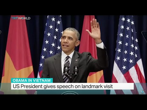 Obama gives speech on landmark visit in Vietnam, political analyst Benjamin Zawacki weighs in