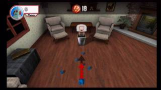Rec Room Games (Wii) Trashcan Basketball