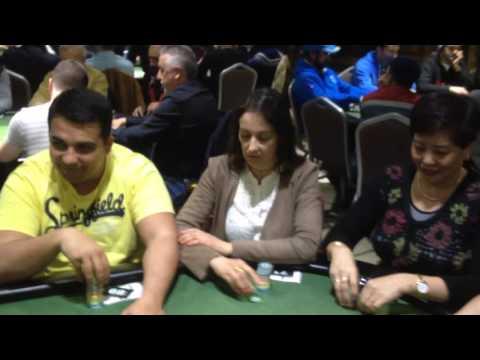 CIP II Gran Casino Extremadura 2016 - Mesa completamente lusa!