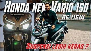 #VLOG Review jalanan New Honda Vario 150