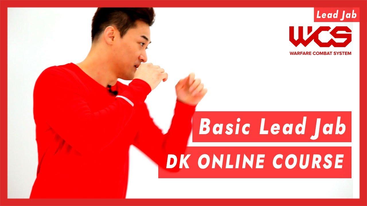 Basic Lead Jab - DK Online Course   DK Yoo