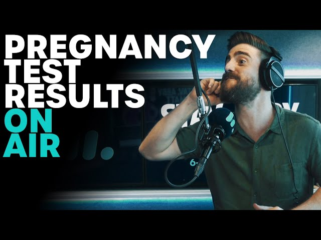 Pregnancy Test Results On Air   B105