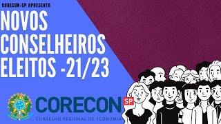 Presidente apresenta os Novos Conselheiros do Corecon-SP : Sergio Mendonça