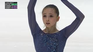 Камила Валиева Kamila Valieva Юниорский Чемпионат Мира JWC 2020 Короткая программа SP