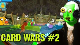 zgw adventure time let s play card wars 2