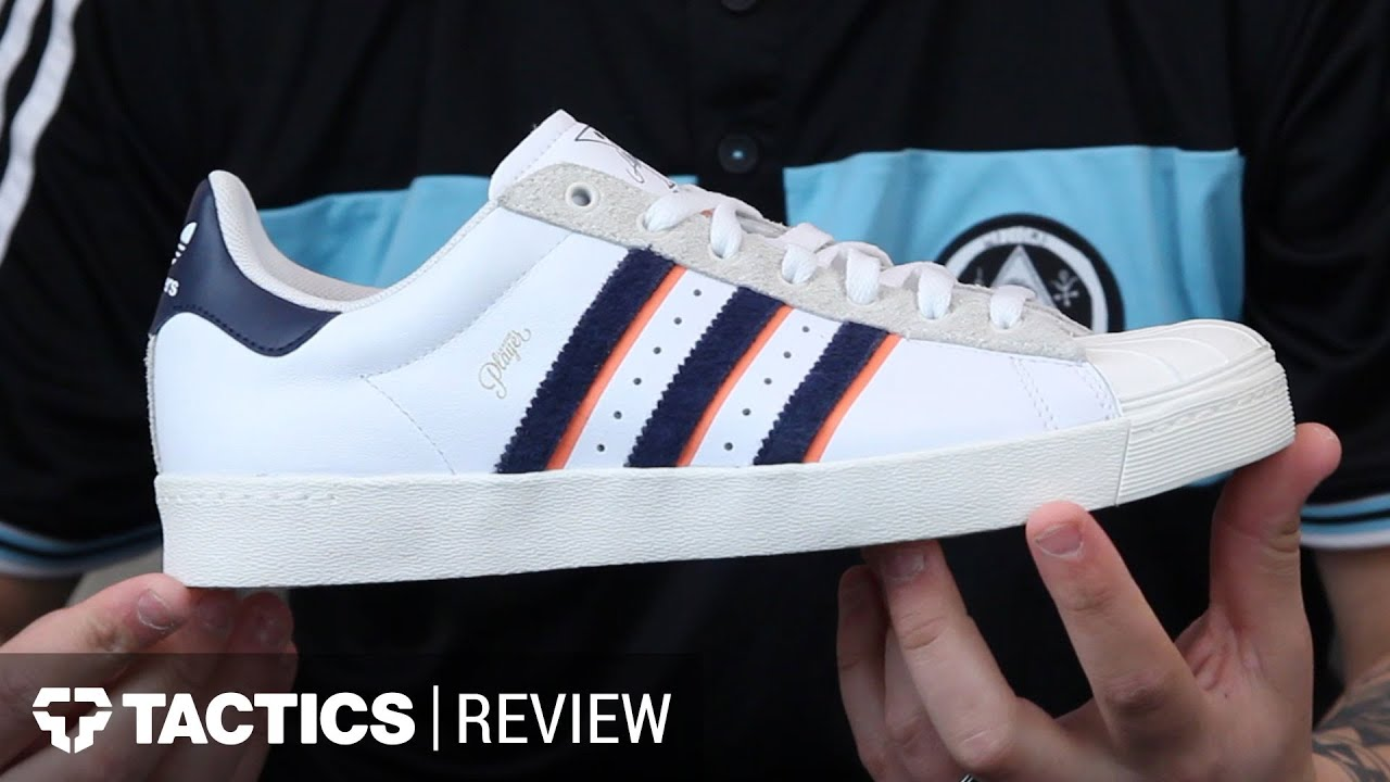 Adidas Superstar Vulc Alltimers Skate Shoes Review - Tactics.com - YouTube