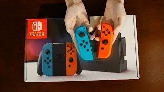 ASMR Relaxing Unboxing   Nintendo Switch