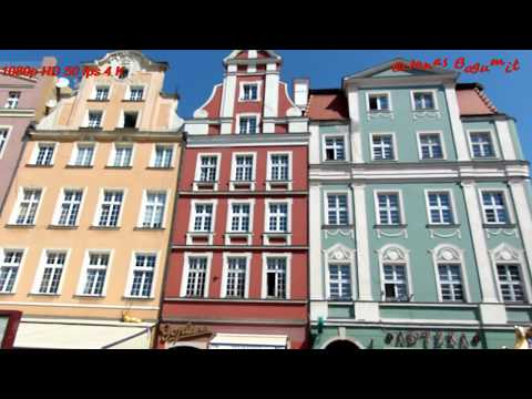 Polska Wrocław Rynek Ratusz Maj 2018 R Online HD 4 K #filmyKulinarne