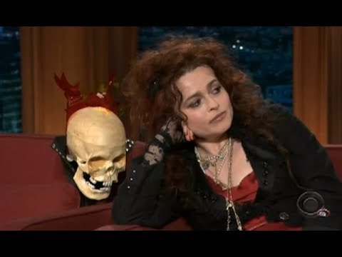 Helena Bonham Carter on The Late Late  with Craig Ferguson