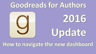 Goodreads for Authors Update 2016