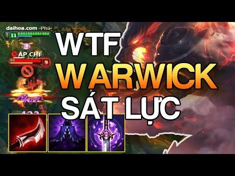 [ Bình Luận LMHT ] Thề Warwick Sát Lực 1 Cào Có Mạng Cực Kì Khủng Khiếp   Cách Mà Cao Thủ Lên Đồ