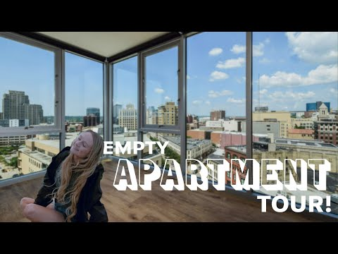 LUXURY EMPTY APARTMENT TOUR! (Downtown Grand Rapids)